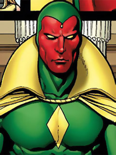 MARVEL COMICS - What is Vision's real name?