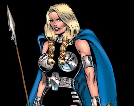 MARVEL COMICS - What is Valkyrie's real name?