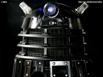 WHAT MUST A DALEK DO TO LAUGH?