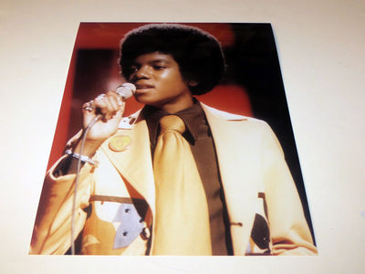 "This photograph of Michael was taken during a live performance of ""Ben"" on ""The Sonny And Cher Comedy Hour"" back in 1972"