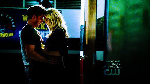 Tyler: Oh! Come on....I love you. How is that for sensitive? / Caroline: I love you too.