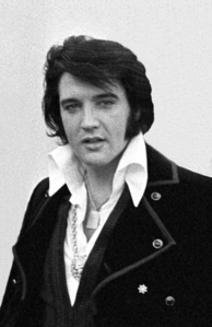 This photograph of Elvis Presley was taken back in 1970