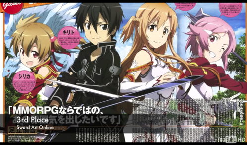 Who is the main characters in Sword Art Online??