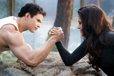 "Which movie in ""The Twilight Saga"" is this picture from?"