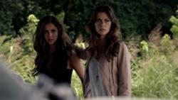 Is Nadia Katherine's daughter and Elena's ancestor?