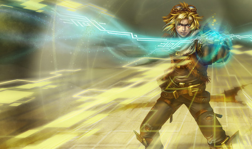 What is the name of Ezreal's ultimate?