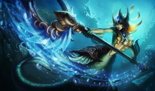 What is the name of a Nami skin?