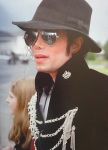 What country was this photograph of Michael taken back in 1996
