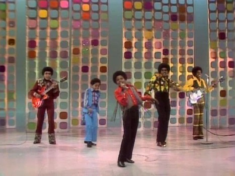 "The Jackson 5's 秒 appearance on ""The Ed Sullivan Show"" back in 1970"
