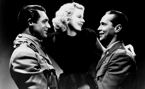 In which film did Jean Harlow have Franchot Tone and Cary Grant as Liebe interests?