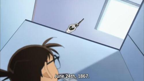 In this episode, Conan-kun encountered...