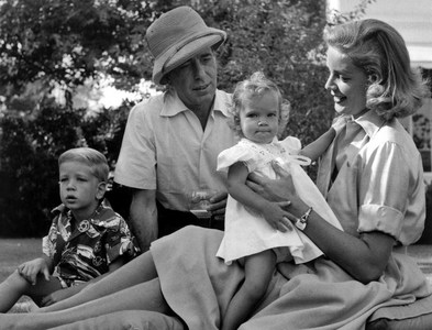 What are the names of Bogie & Bacall's children?