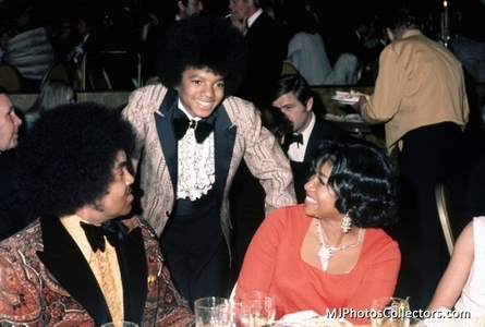 This photograph of Michael and his parents was taken at the 1973 Golden Globe awards