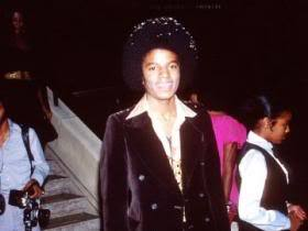 "This photograph of Michael was taken at the 1978 movie premiere of ""The Wiz"""