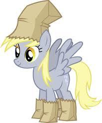 "What does Derpy do in the episode ""Luna Eclipsed""?"
