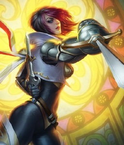 Fiora is Demacia's most notorious duelist.