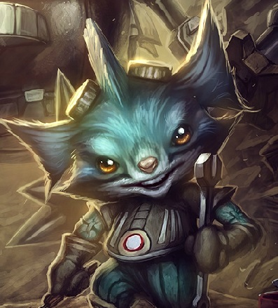 Rumble is a yordle.