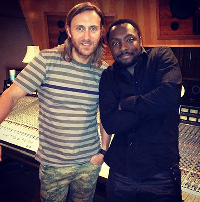David Guetta and will.i.am can be seen as producers at ________.