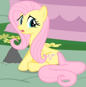 True or False: Fluttershy cried in Griffon the Brush Off.