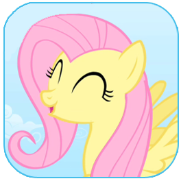 What color is Fluttershys eyes?