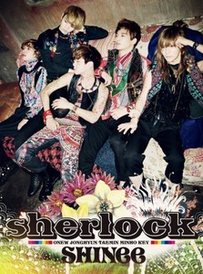 what colori did key change his hair to during the sherlock era?