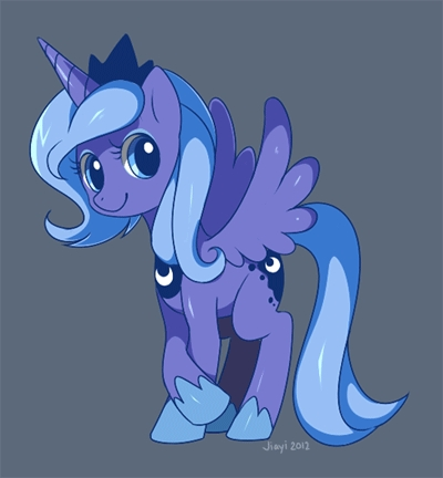 When Princess Luna was younger, she had this type of mane.