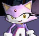 What was the first game Blaze appeared in?