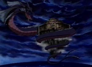 how did  the great leviathan appear in season 4