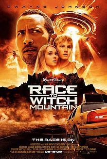 """What year was the Disney film, """"Race To Witch Mountain"""", released"""