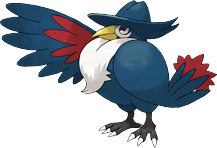 What is Honchkrow weak to?