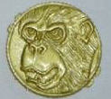 Who had the power of the Ape Ninja Power Coin