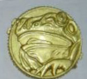 Who had the power of the Frog Ninja Power Coin