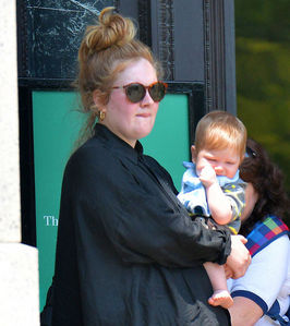 What is the name of Adele's son?