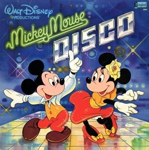 "What anno was the Disney album, ""Mickey topo, mouse Disco"", released"