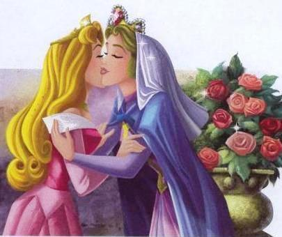 What is the name of Princess Aurora's mother?