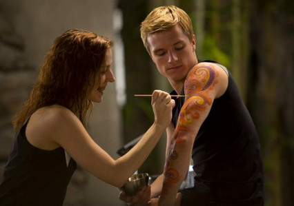 T/F:This scene was included in Catching Fire movie