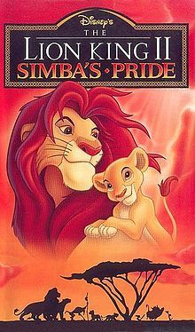 "What year was the sequel ""Lion King II: Simba's Pride"", released"