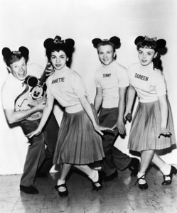 These are the original Mouseketeers from the mid-50's