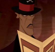 Who is this Disney cartoon villain
