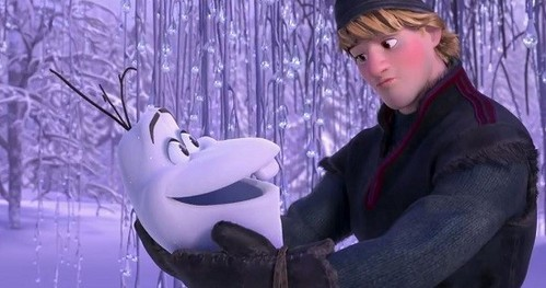 What Olaf thought Kristoff was called?