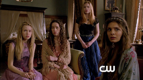1X07 Who was the only Lady in waiting that was not setting at the Feast?