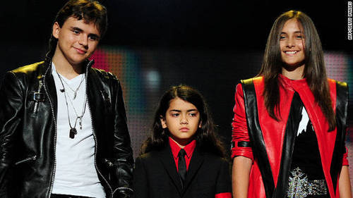 What is Michael Jackson's kids name?