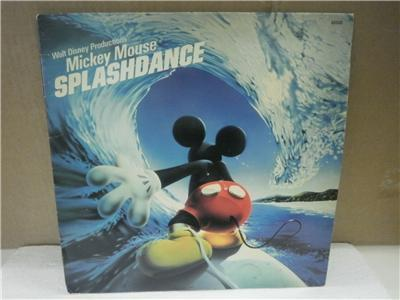 "What year was the Disney album, ""Mickey Mouse: Splashdance"", released"