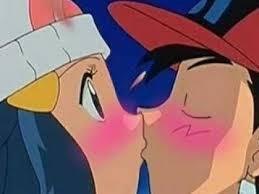 what happen ash really kiss dawn