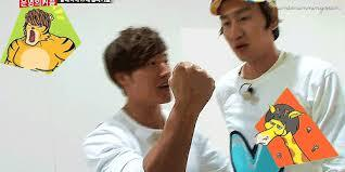 In episode 147,KwangSoo beat JongKook in rock,paper,scissors game on the flying chair.