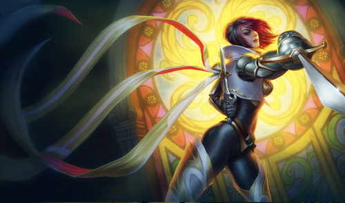 During Fiora's jokes, whose face does she draw in the air?