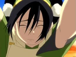Why did aang get mad at toph in the episode,The Desert?