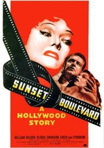 In the 1950 movie Sunset Boulevard who was first choice for the role of Norma Desmond?