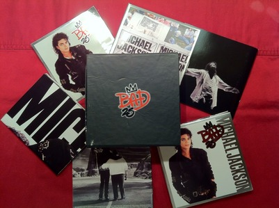 "The ""25th"" Anniversary edition of ""Bad"" was released on Tuesday, September 18, 2012"