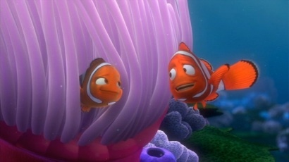 Who voiced Coral in Finding Nemo?